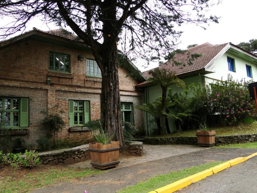 Casa em Gramado onde se localizava a antiga Vinícola Petronius. (Foto/Maria Amélia Duarte Flores)