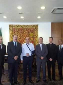 Ministro recebeu dirigentes na tarde desta segunda-feira (16), na capital federal